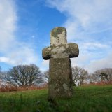 Cross on Whitchurch Down Feb 2016, Dartmoor