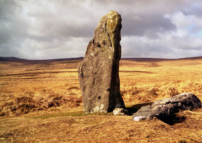 Scorhill circle, Northern Dartmoor.