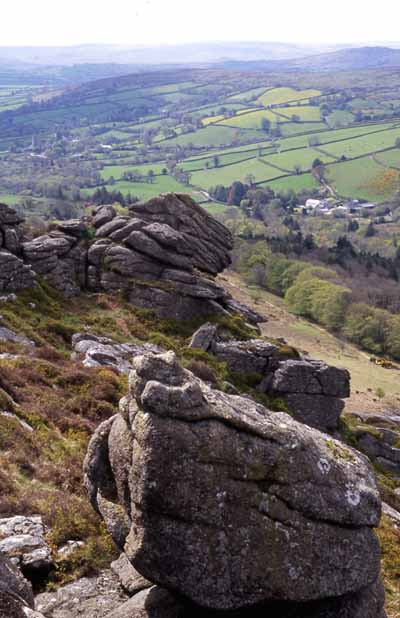 Honeybag Tor, Dartmoor.