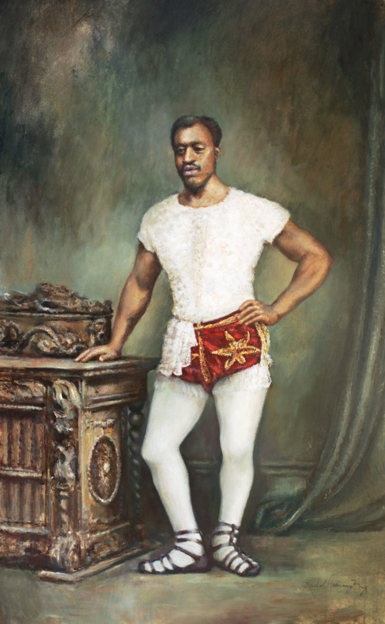 Portrait of Carlos Trower