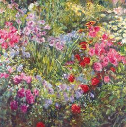 SL160 My garden [oil]