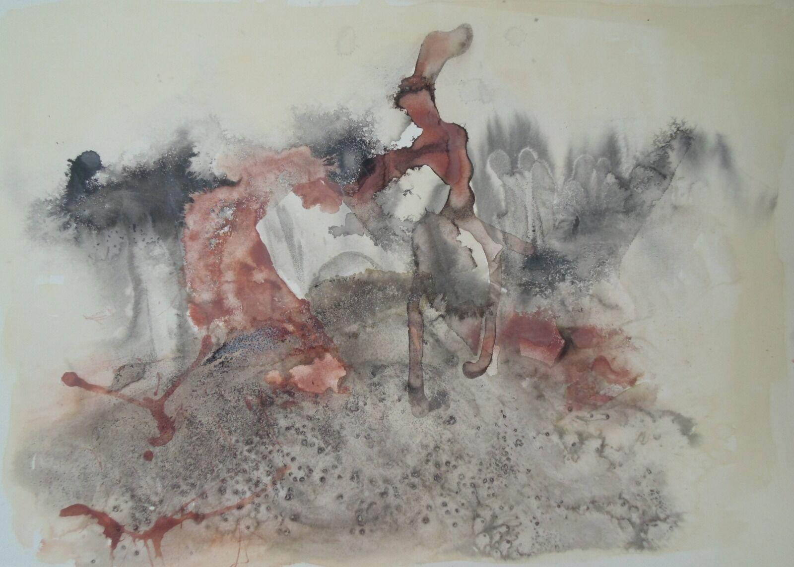 Tidal Patterns 1, Drigg (55 x 80 cm)