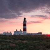Point of Ayre Sunset