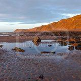 Evening at Glen Wyllin Beach
