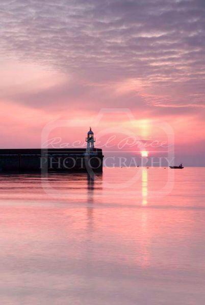 Port Erin Setting Sun