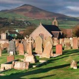 Maughold Church and Barrule