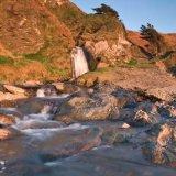 White Beach Waterfall