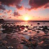 Ballaugh Beach Sunset Clouds