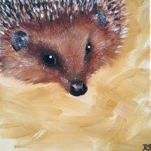 Priddy the hedgehog
