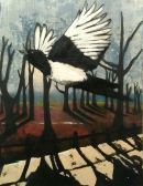 magpie in the park no.3