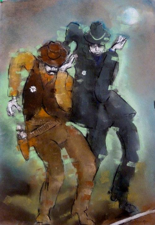line dancing sheriffs