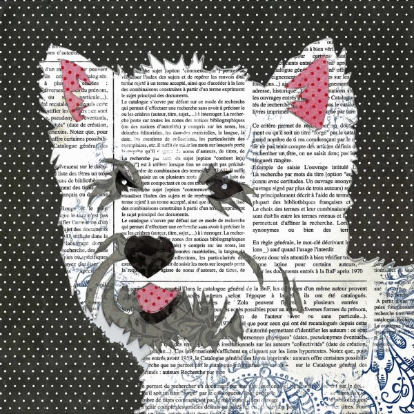 West Highland Terrier - Animal Collage by Clare Thompson