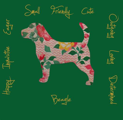 Beagle Dog Breed Traits Print