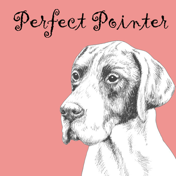 Perfect Pointer Dog Breed Print by Clare Thompson