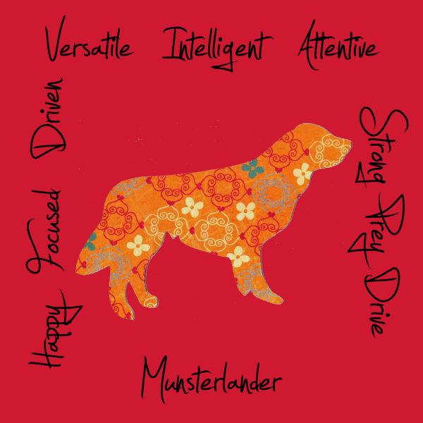 Munsterlander Dog Breed Traits Print