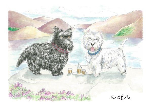 Scotch - Blank Card