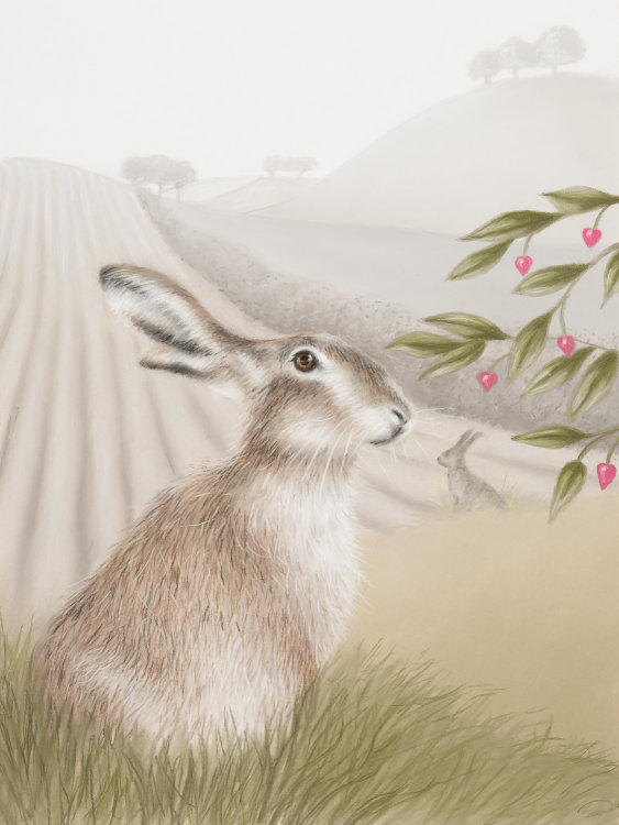 Morning Mist - Wildlife Print by Clare Thompson