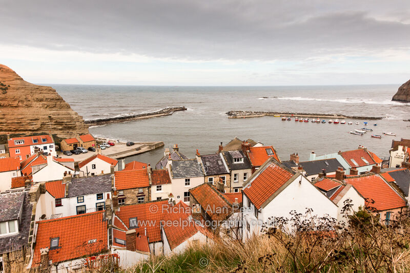 Staithes North Yorkshire England UK