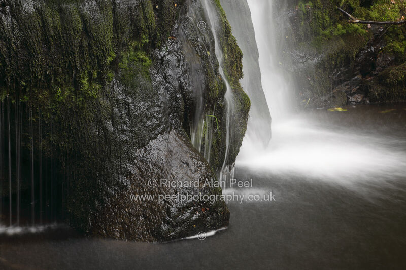 Rock and Water Posforth Gill North Yorkshire England UK