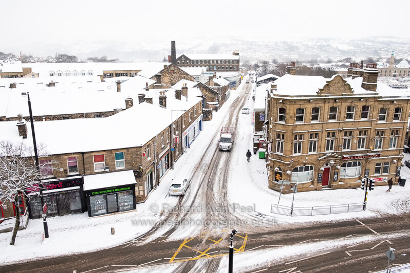 Winter Keighley West Yorkshire February 2018