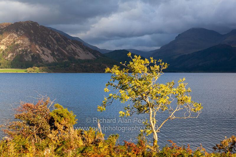 Evening light Ennerdale Water Lake District Cumbria UK
