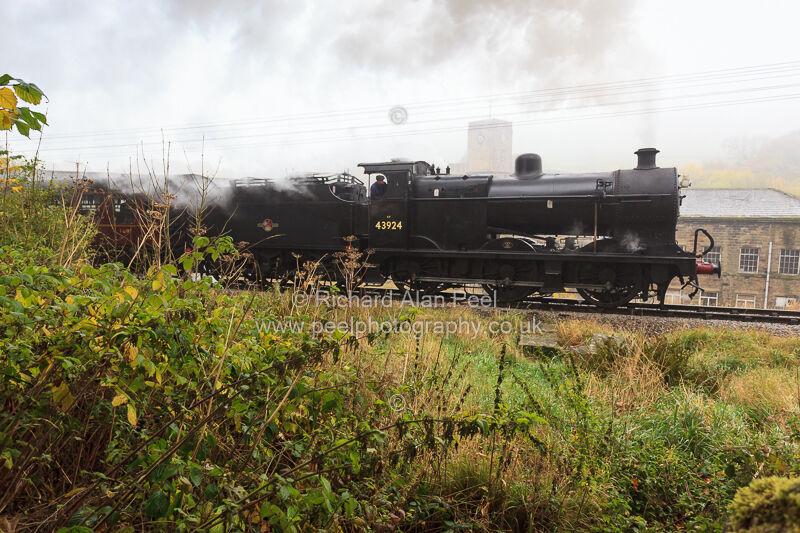 Keighley and Worth Valley Railway near Haworth West Yorkshire England UK