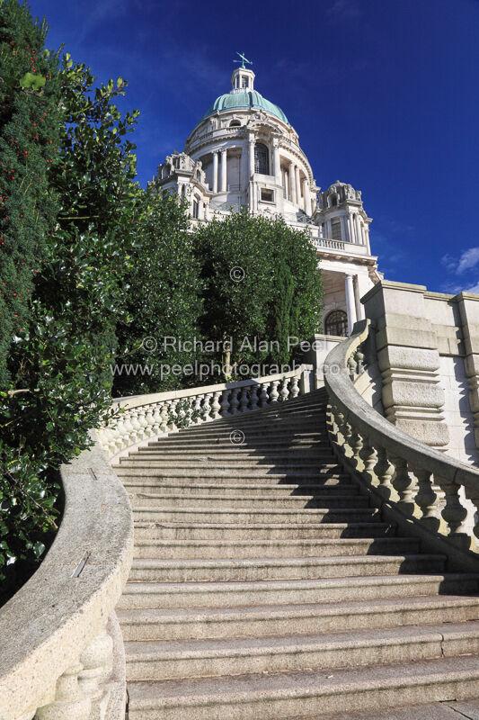 Stairs Ashton Memorial Lancaster England UK