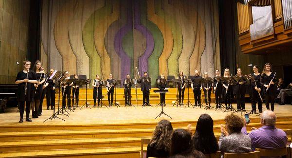 rarescale Flute Academy (c) Malcolm Pollock