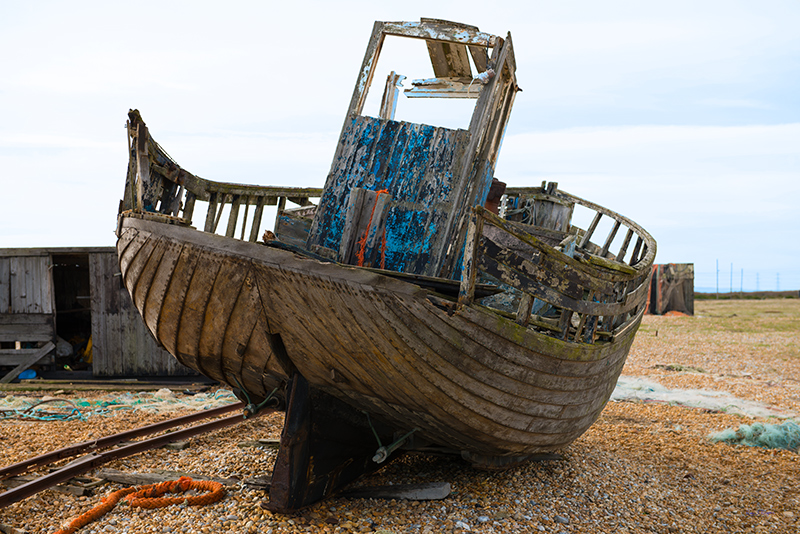 0661-1 Done -Fishing Boat Dungeness
