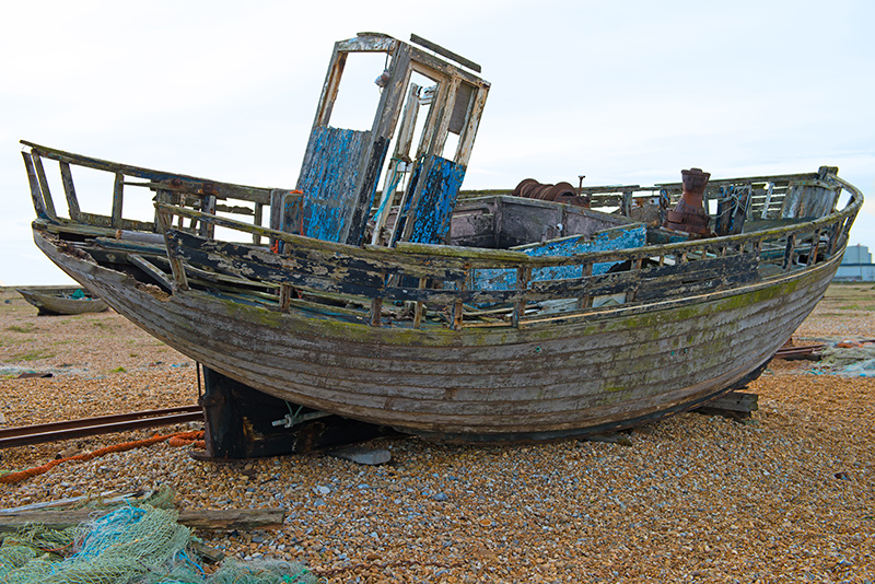 0664-2 Done -Fishing Boat Dungeness