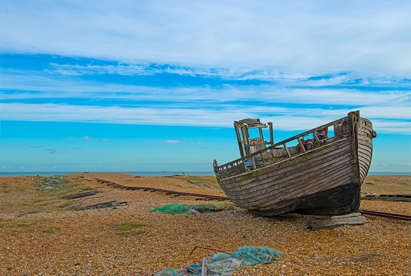 0667-3 Done -Fishing Boat Dungeness