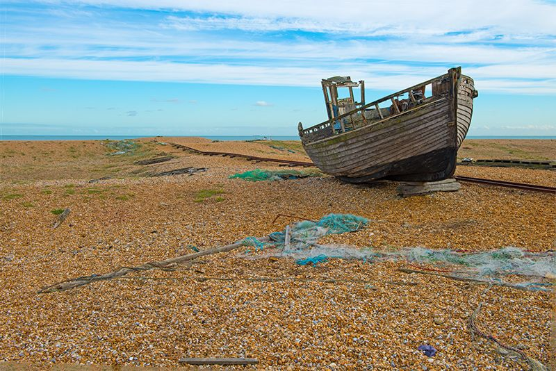 0668-4 Done -Fishing Boat Dungeness