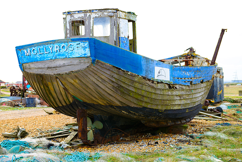0733-Done Fishing Boat MOLLYROSE