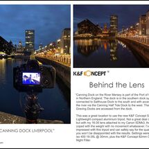 12k&f behind the Lens new canning dock