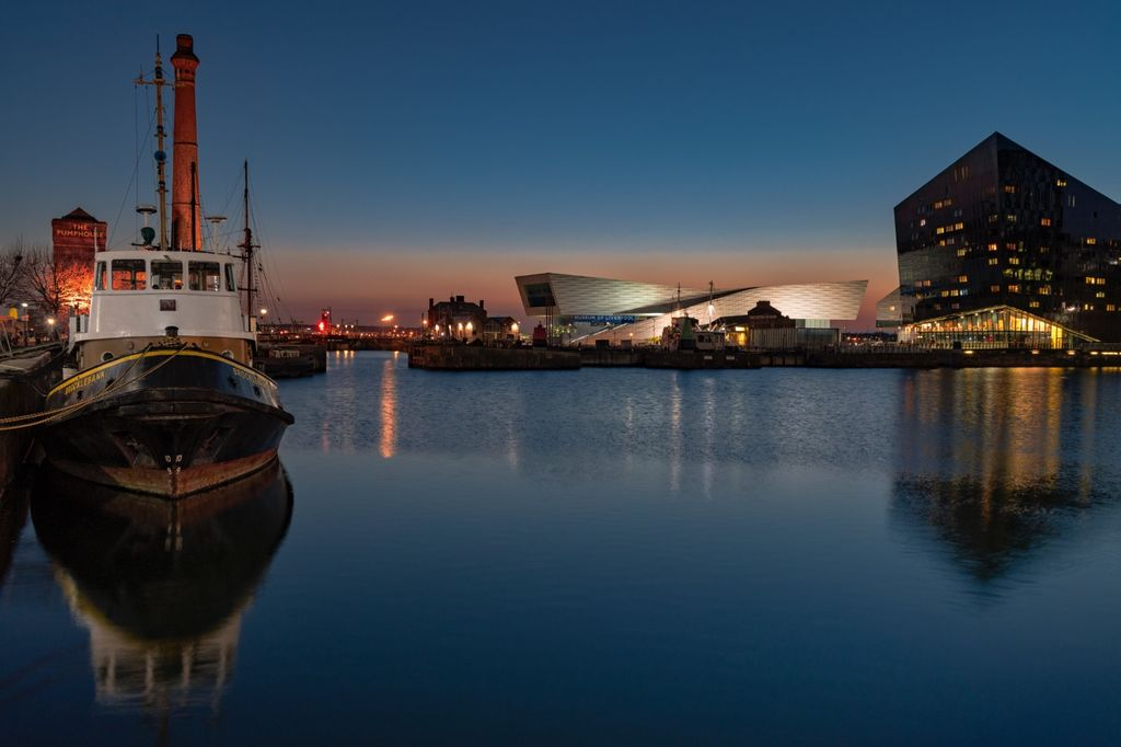Canning Dock Blue Hour