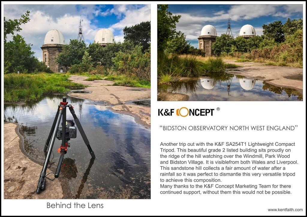 4k&f behind the Lens Observatory