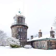 Bidston Lighthouse Winter