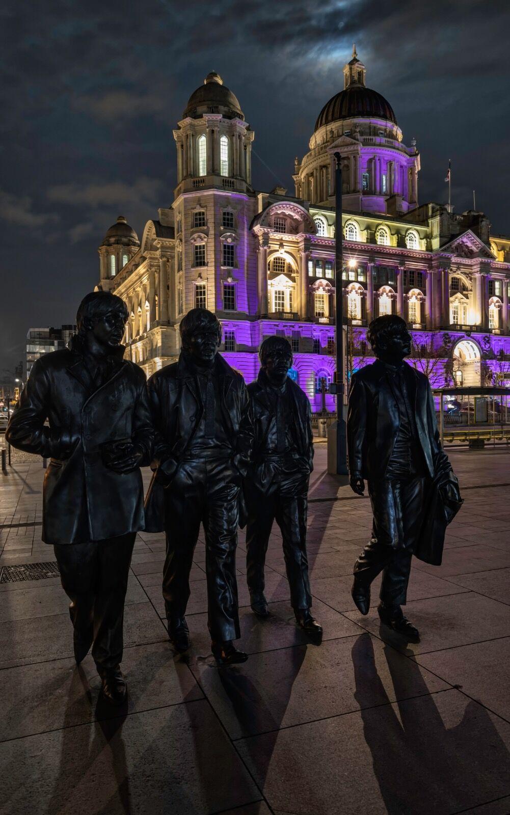 The Beatles Statue Pier Head Liverpool0009