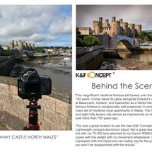 k&f behind the scene new conwy