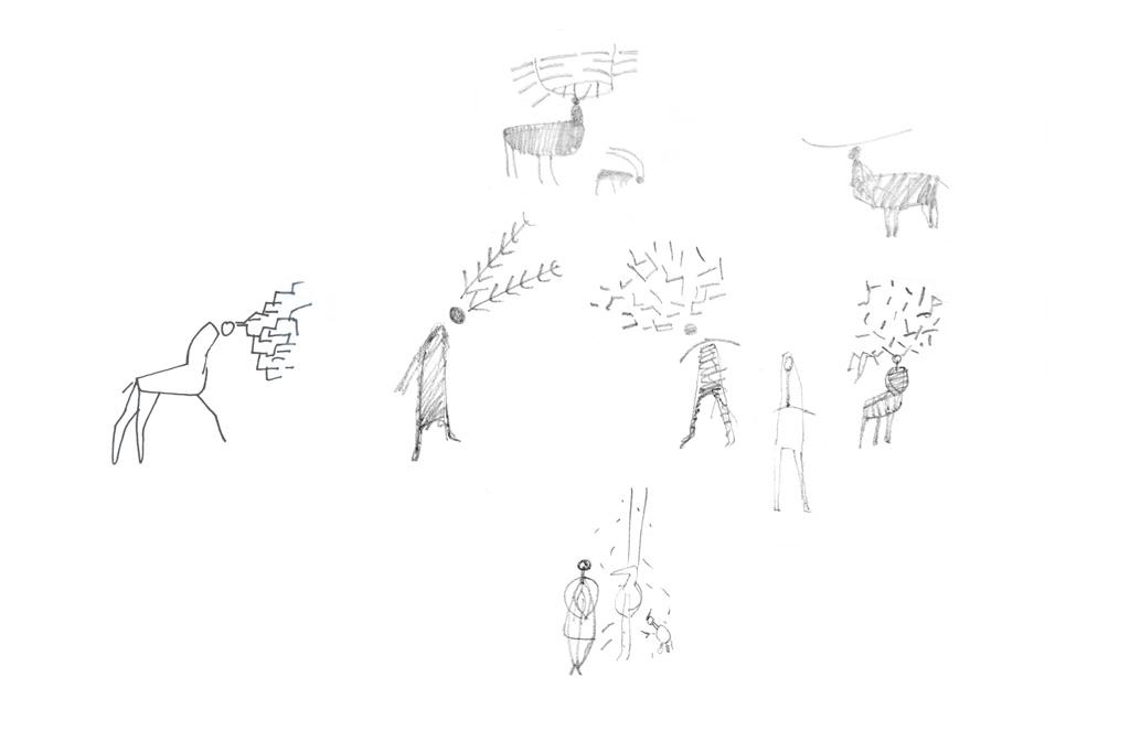 Antler Sketch