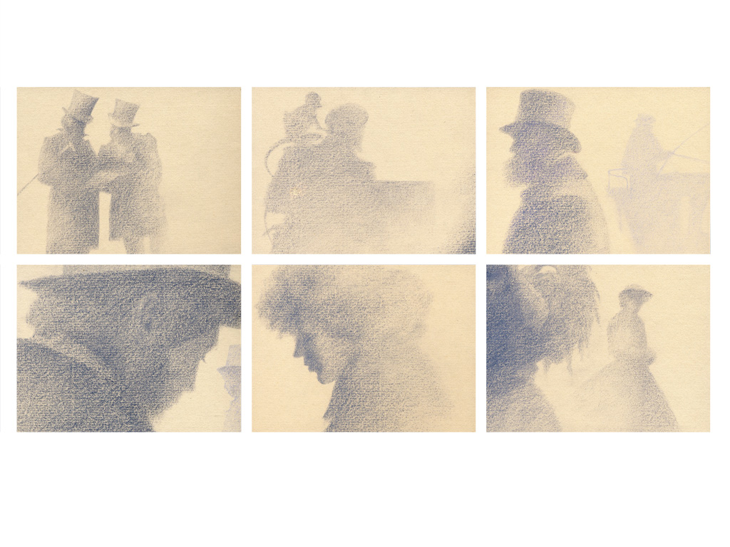 Bleak House, Title Sequence, 1st. Concept Storyboard