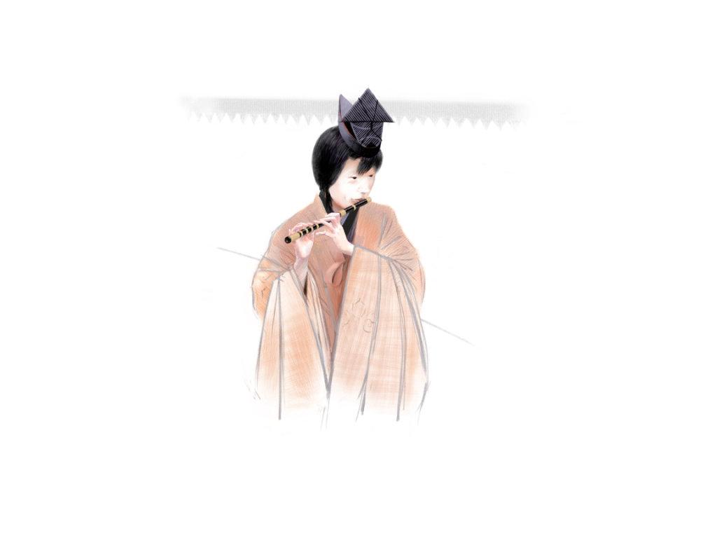 Flute Player, Takayama Matsuri