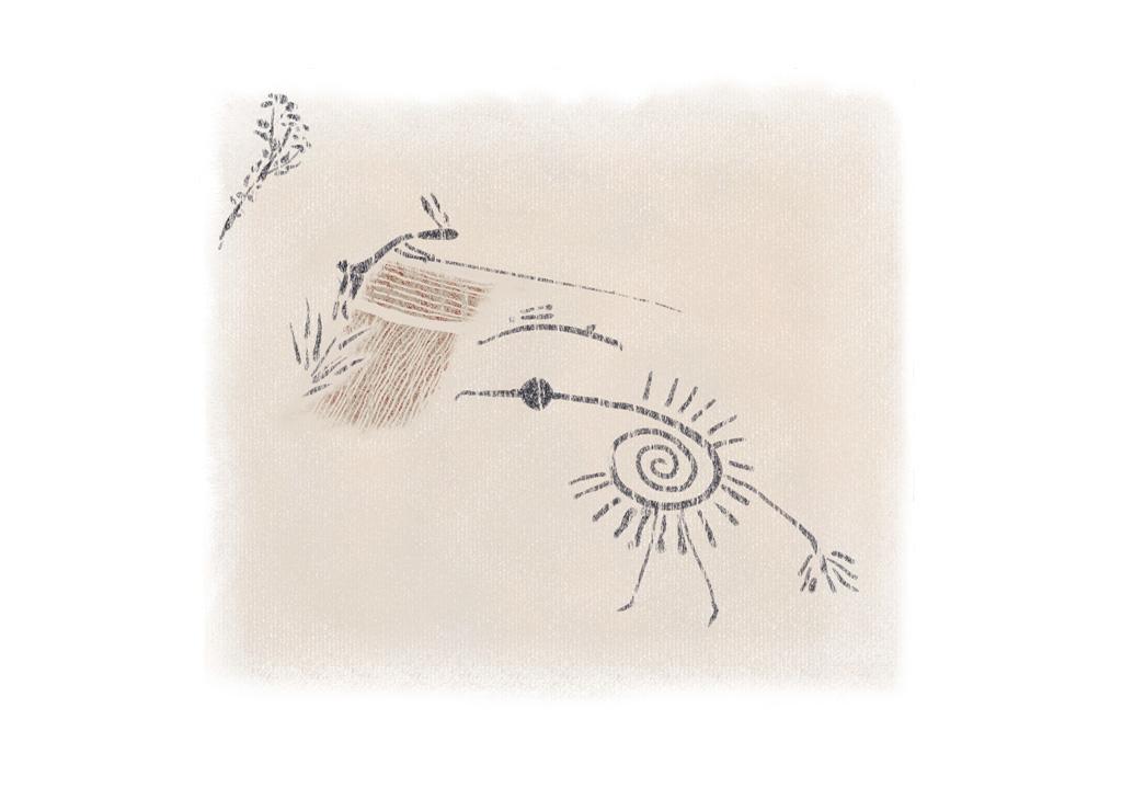 Fishing Rabbit, Sketch