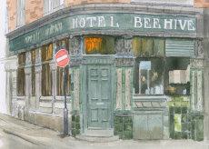 The Beehive hotel, Newcastle upon Tyne. 7X5 inch fine art print
