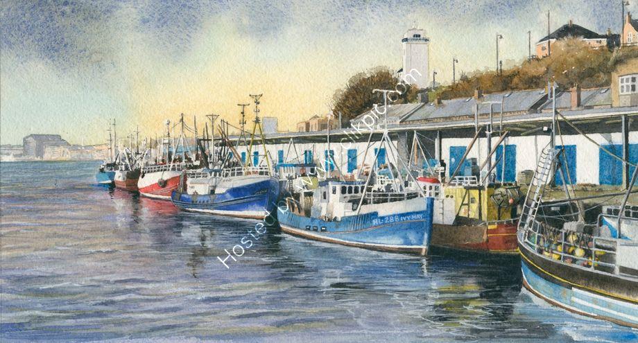 North Shields fish quay, Newcastle upon Tyne