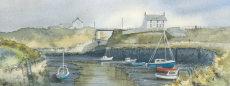 'The Kings arms, Seaton Sluice' fine art print
