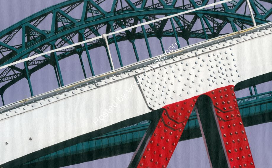 'Swing Tyne' Newcastle upon Tyne, fine art print