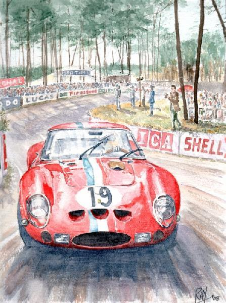 250GTO LM1962