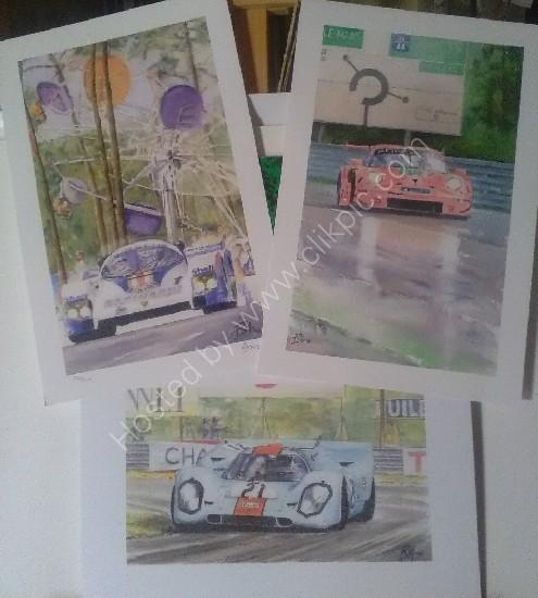 3 iconic Porsche