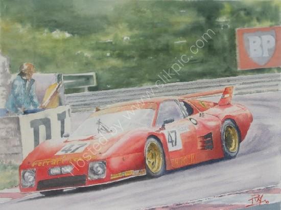 512BBLM Le Mans 1981